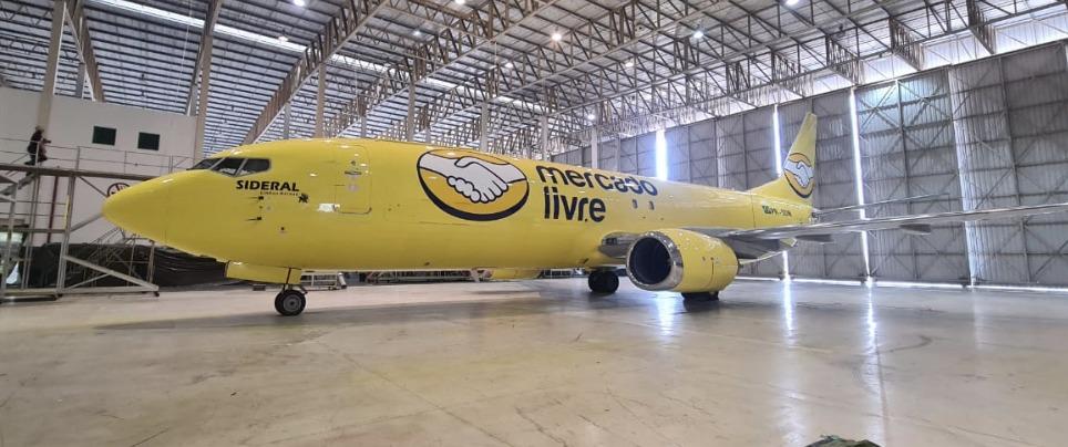 mercado libre - Frota aérea Mercado Livre encurta distâncias