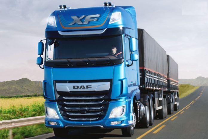 DAF - DAF quer liderança entre  caminhões pesados com novo XF no Brasil